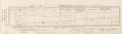 Leo Susman & Mary Ann Lazarus marriage record