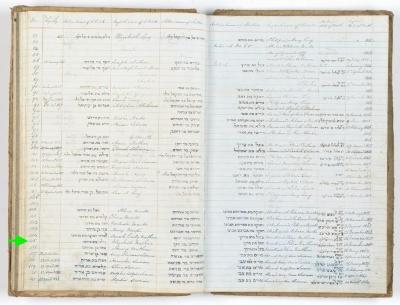 Elizabeth Nathan birth record