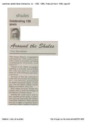 Celebrating 150 years