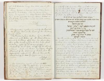 Meeting Minute Original Page, 5 June 1843 - 9 August 1843