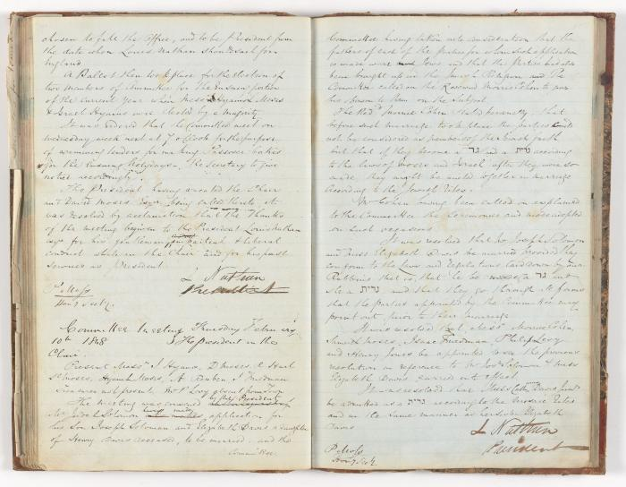 Meeting Minute Original Page, 6 February 1848 - 2 February 1848