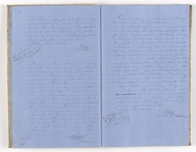 Meeting Minute Original Page, 16 October 1870